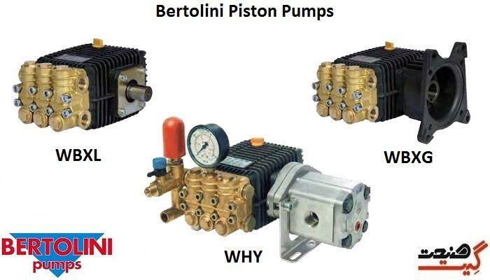 پمپ پیستونی برتولینی مدل WBX